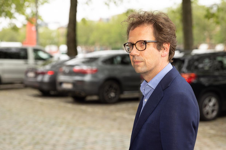 Advocaat Joris Van Cauter: 'Waarom schrijft een rechter individuele brieven? Het is een fundamenteel principe: de rechter spreekt met één stem.' Beeld BELGA