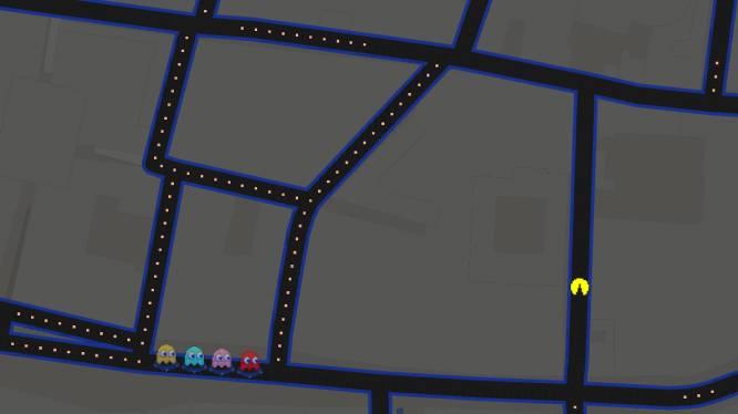 Speel Pac-Man op Google Maps op deze 1 april