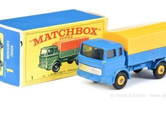 Recordprijzen voor oude speelgoedautootjes: 326.000 euro voor deel collectie