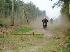 26 boetes voor zes motorcrossers in de bossen van Sint Anthonis