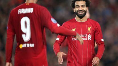Salah met twee goals held van de avond voor Liverpool, dat moeizaam wint van Salzburg