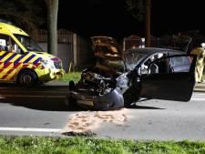 Automobilist botst met auto tegen boom in Steenbergen