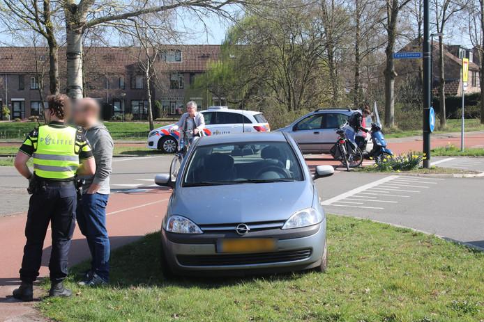 Ongeval in Apeldoorn.
