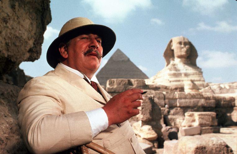 Peter Ustinov in 'Death on the Nile' van John Guillermin. Beeld