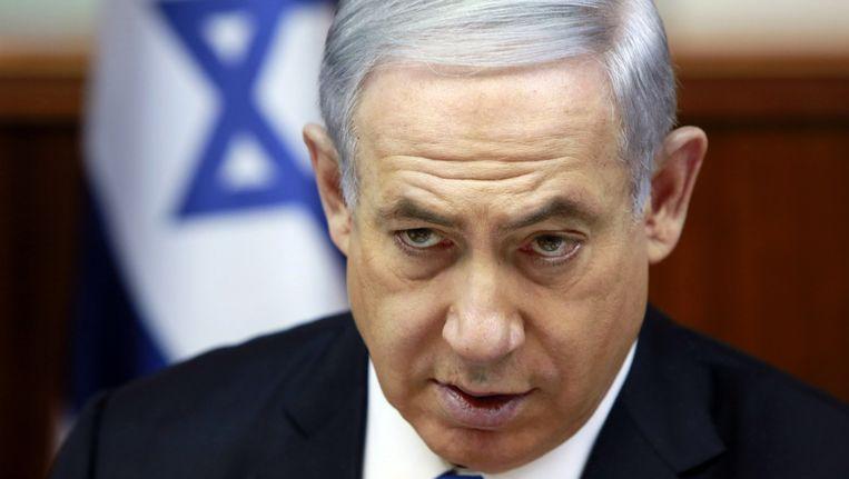 Benjamin Netanyahu Beeld ap