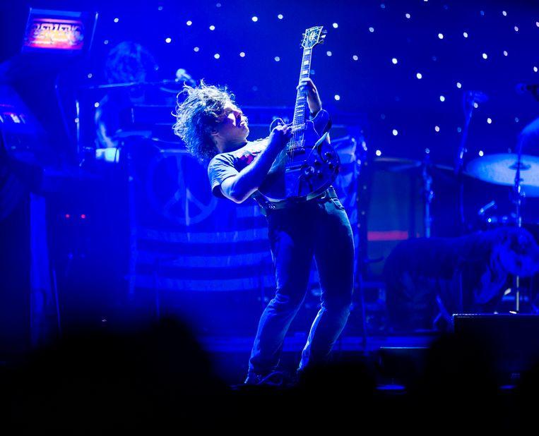 Ryan Adams speelt ten dans op het Down The Rabbit Hole-festival in Nederland. Beeld BELGA