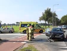 Drie auto's betrokken bij ongeluk op de N224 in Ede