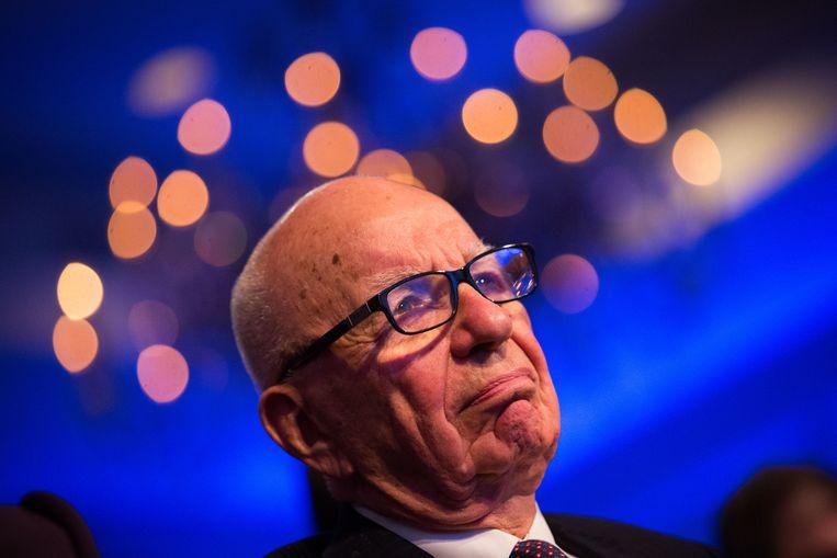 Rupert Murdoch kampt met forse tegenslagen. Zijn rijk lijkt langzaam af te brokkelen.  Beeld Getty Images
