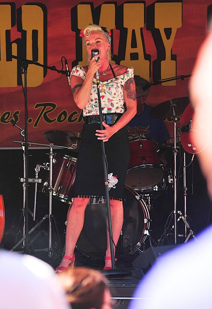 Wild May West is een van de muziekacts tijdens Vlissingen Vintage.