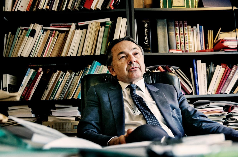 Islamexpert Gilles Kepel: 'Ik word nu door islamisten én sommige seculieren onder vuur genomen.' Beeld Tim Dirven