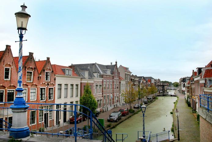 Het pittoreske centrum van Maassluis.