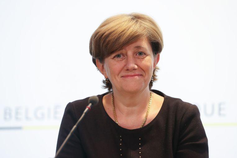 NMBS-baas Sophie Dutordoir. Beeld belga
