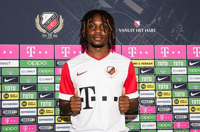 FC Utrecht heeft Arthur Zagre twee jaar gehuurd.