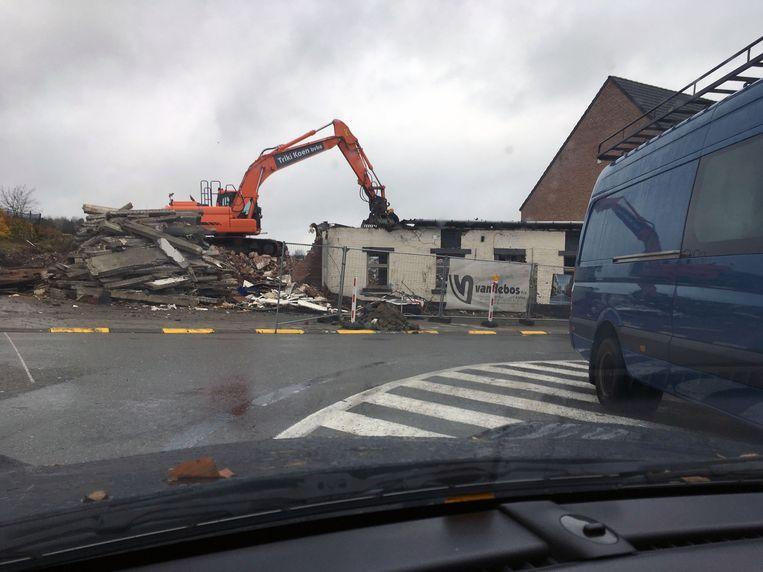 De Veldduif in het centrum van Haasrode werd in maart afgebroken.