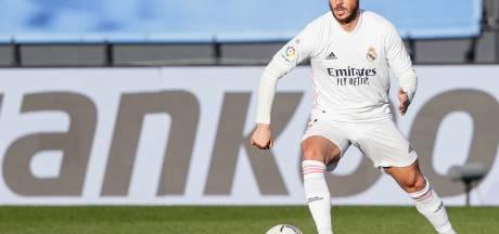 Eden Hazard n'est pas repris pour le Clasico samedi