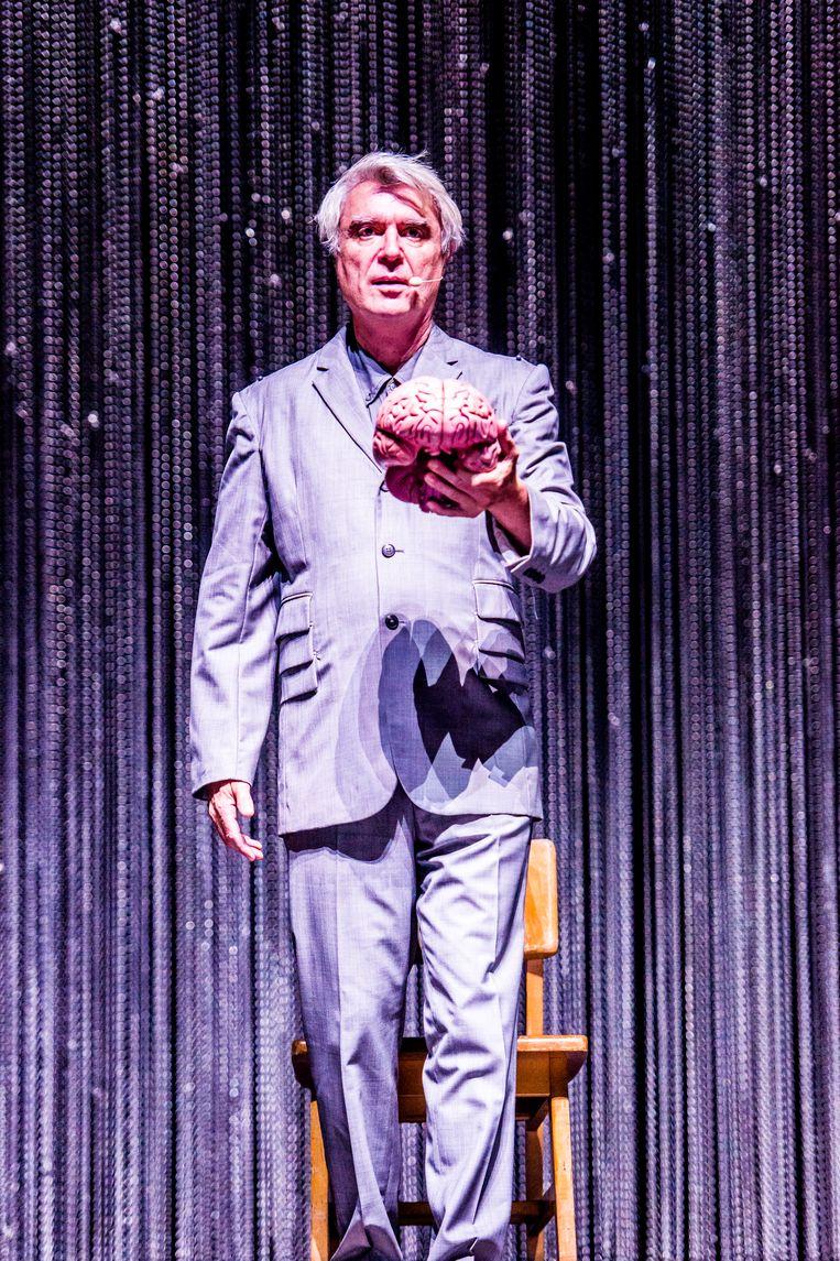 David Byrne op Rock Werchter.