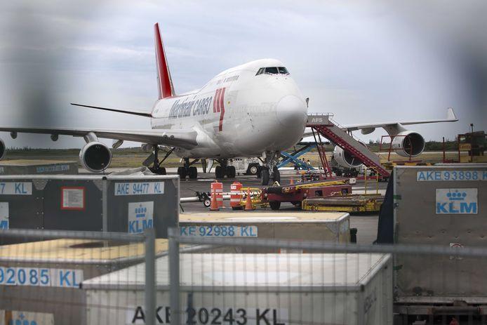 Een vrachtvliegtuig, foto ter illustratie