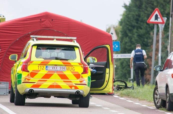 Begin september werd een fietser (63) doodgereden aan de brug in Boorsem.