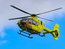Traumahelikopter opgeroepen na ongeval op de Kapperallee in Warnsveld