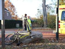 Mountainbiker gewond na ongeval in Vessem