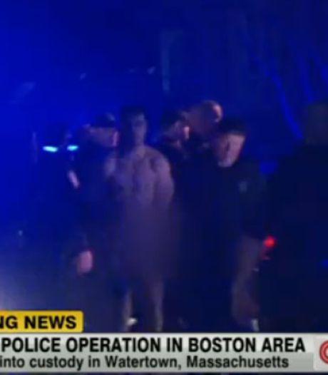Mysterie rond naakte arrestant in Boston