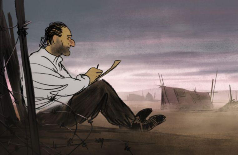 Josep, tekenaar en verzetsstrijder. Beeld RV