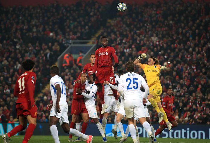 Genk speelde tegen Liverpool