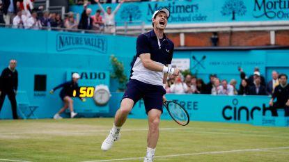 Murray wint finale dubbelspel in Queen's - Mertens voorbij olympisch kampioene in Eastbourne