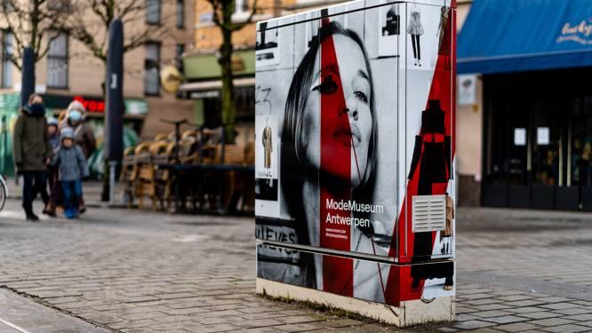 Nutskasten in Antwerpse Nationalestraat in 'modieus' jasje gestoken