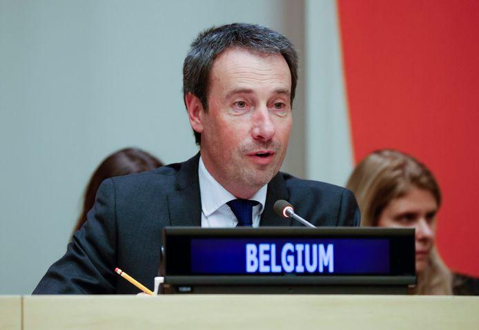 Minister van Buitenlandse Zaken Philippe Goffin (MR).