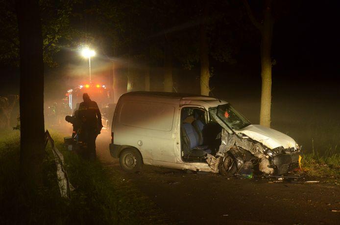Een ongeval met een MMBS-voertuig in Vorden.