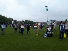 Tientallen aanwezigen op anti-Israël demonstratie op Museumplein
