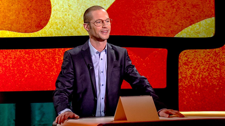 Mathias Coppens in 'De Omgekeerde Wereld'. Beeld VTM