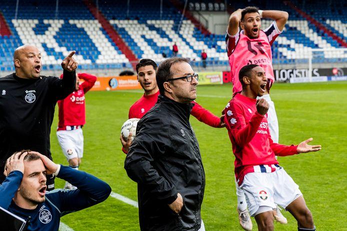 Het wordt net geen 3-1, maar even later komt het laatste fluitsignaal bij Willem II - Fortuna Sittard: 2-1.