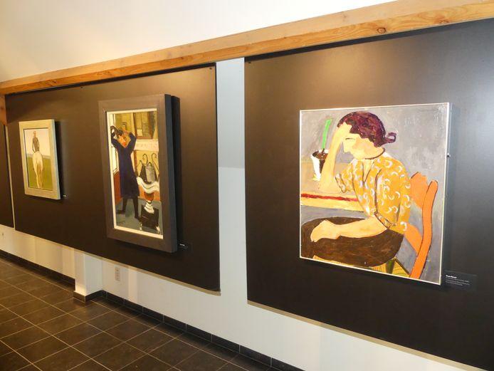 De tentoonstelling Hubert & Raveel is te zien in het museum Gevaert-Minne.