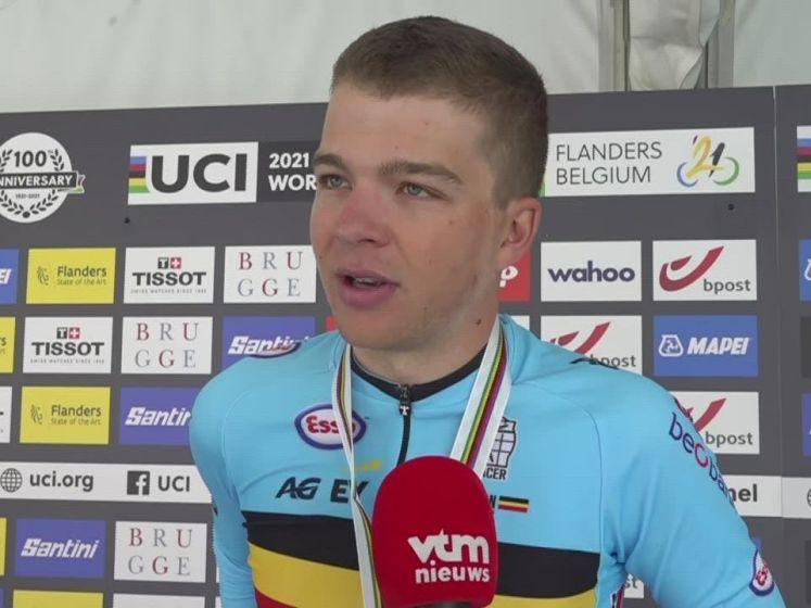 """Florian Vermeersch: """"Ik ben heel gemotiveerd voor de wegrit"""""""