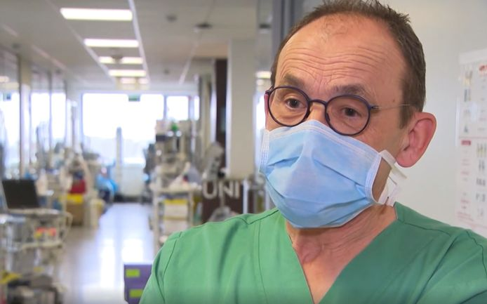 Geert Vandenbroucke, diensthoofd intensieve zorg OLV Ziekenhuis in Aalst.