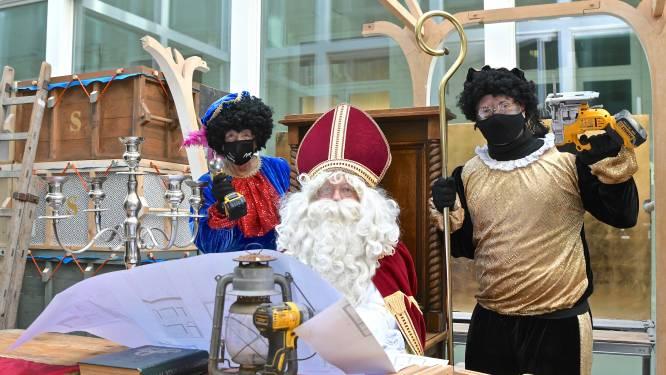 Lievegem zorgt zaterdag voor digitale intocht Sinterklaas