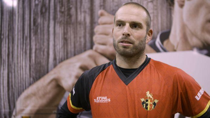 Koen Martens behaalde de zilveren medaille op het EK