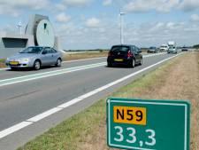 N59 op Grevelingendam en Flakkee twee avonden en nachten dicht