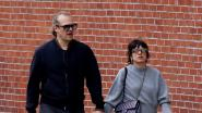 Lily Allen en 'Stranger Things'-acteur David Harbour al kussend gespot