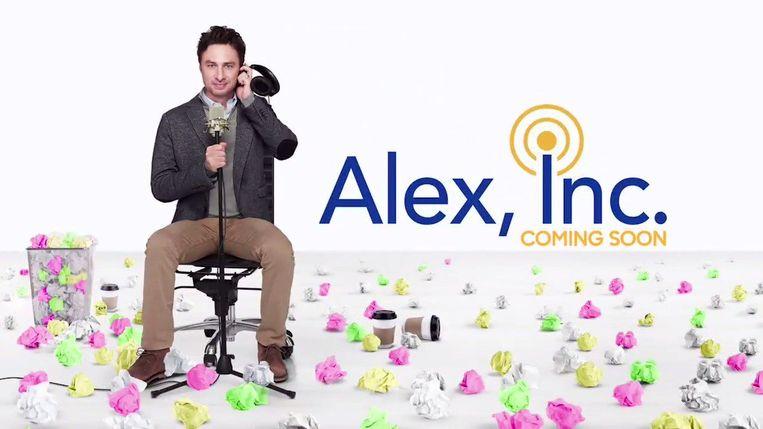 Weinig podcasts worden ooit verfilmd, maar het eerste seizoen van StartUp vormde de inspiratiebron voor Alex, Inc. Beeld ABC
