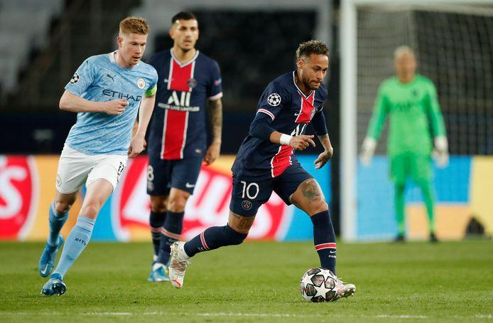 De Bruyne en Neymar: de recordaankopen van respectievelijk City en PSG.