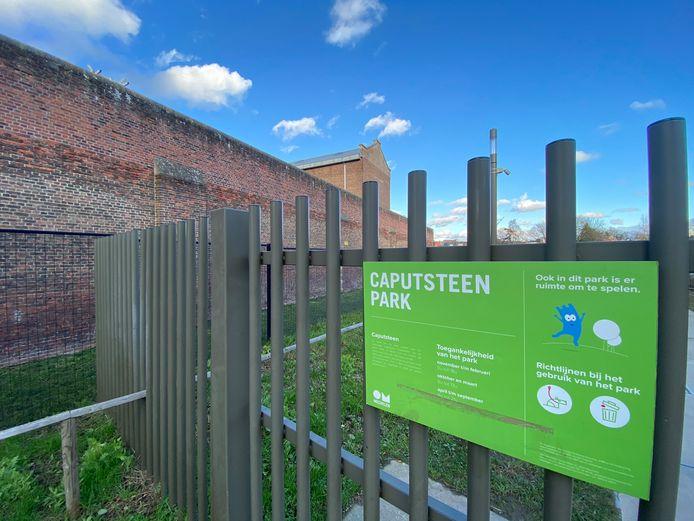 MECHELEN - Het Caputsteenpark in Mechelen pal naast de gevangenis