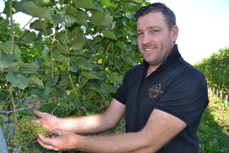 Gerry Calders van wijndomein Petrushoeve.
