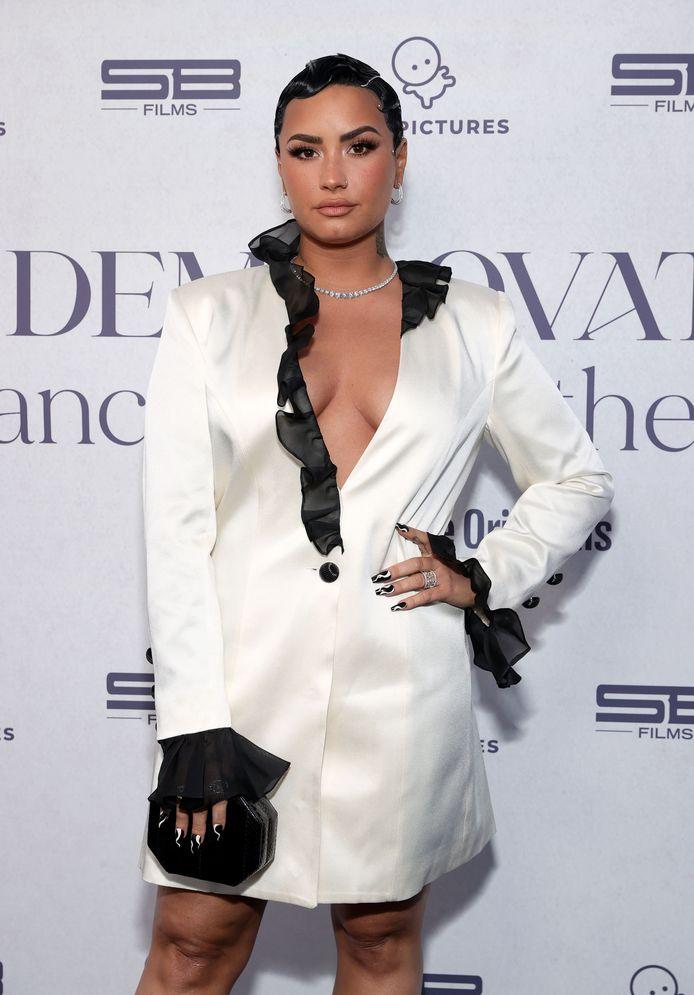 Demi Lovato in maart 2021.