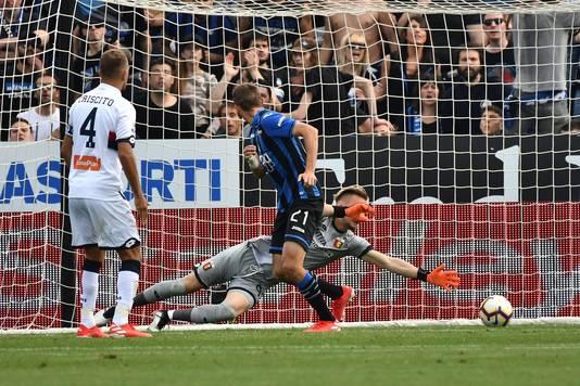 Timothy Castagne zorgt voor 2-0.