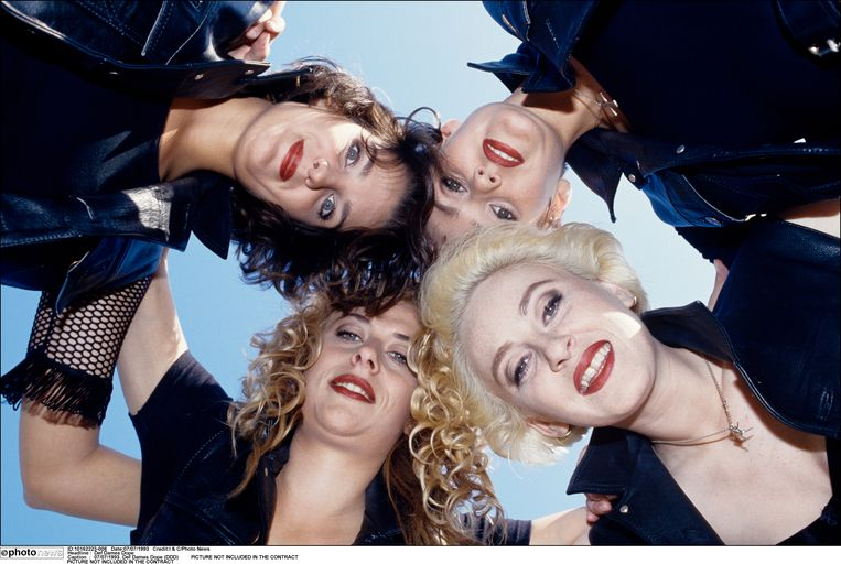 Def Dames Dope in 1993. Beeld Photo News