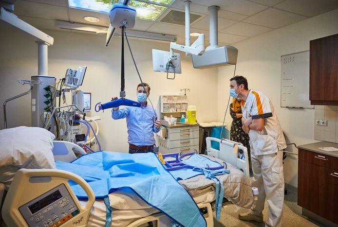 In het Maasstad Ziekenhuis werd in oktober een nieuwe IC-afdeling geopend. Er werd uitgebreid voor coronazorg.
