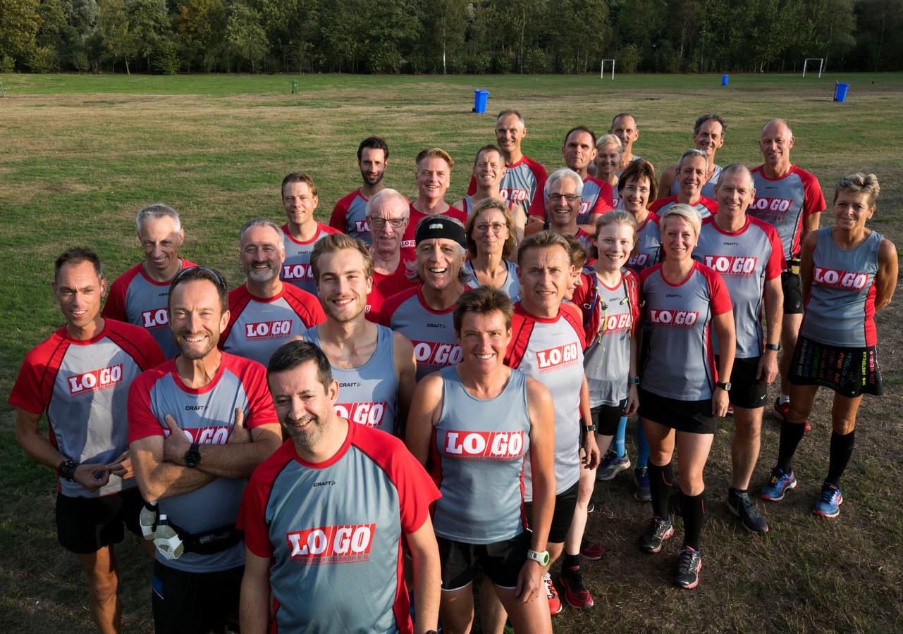 LOGO Geldrop doet met 35 lopers mee aan de marathon van Berlijn.